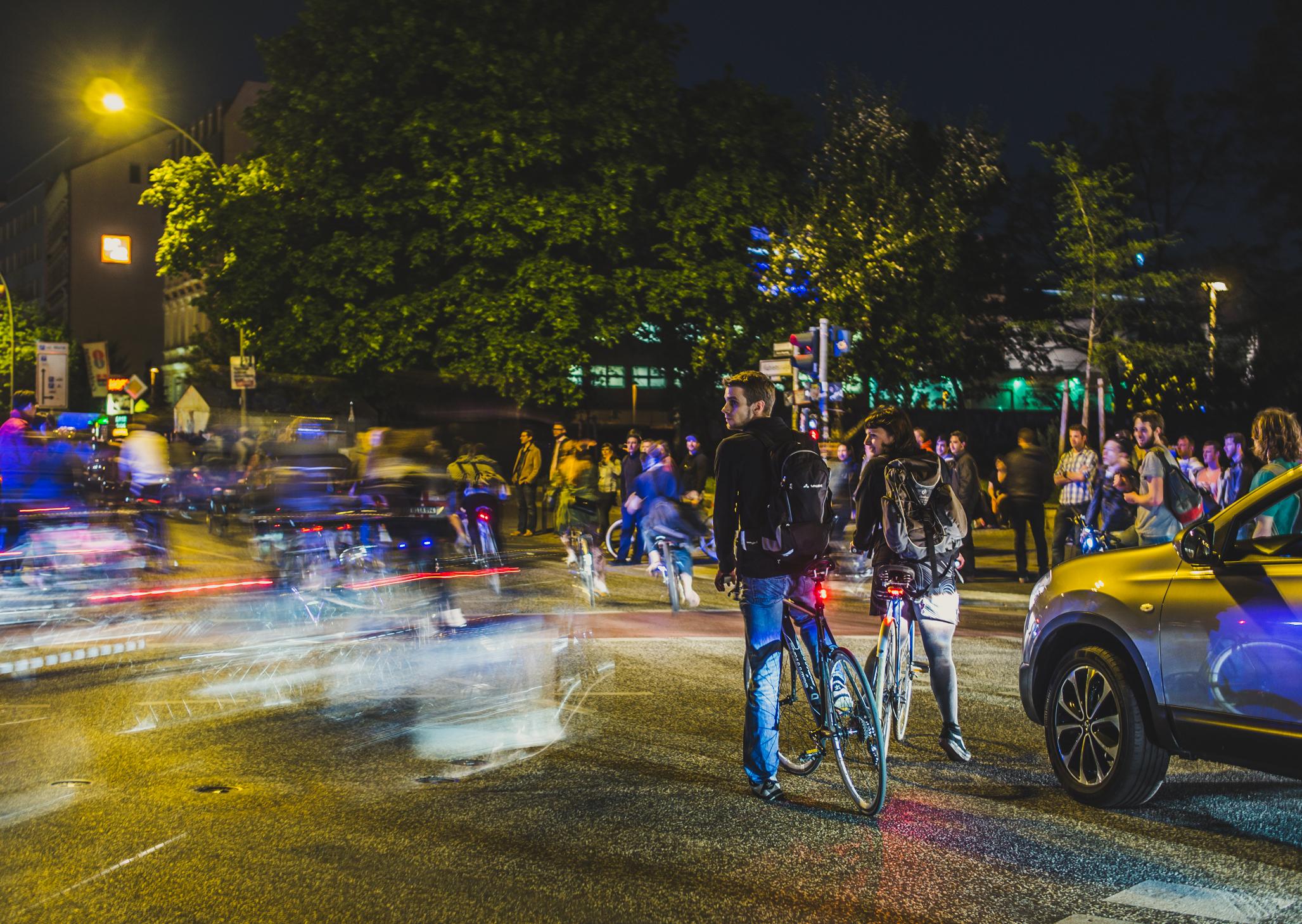 Freie Fahrt für Fahrräder, nicht für Autos
