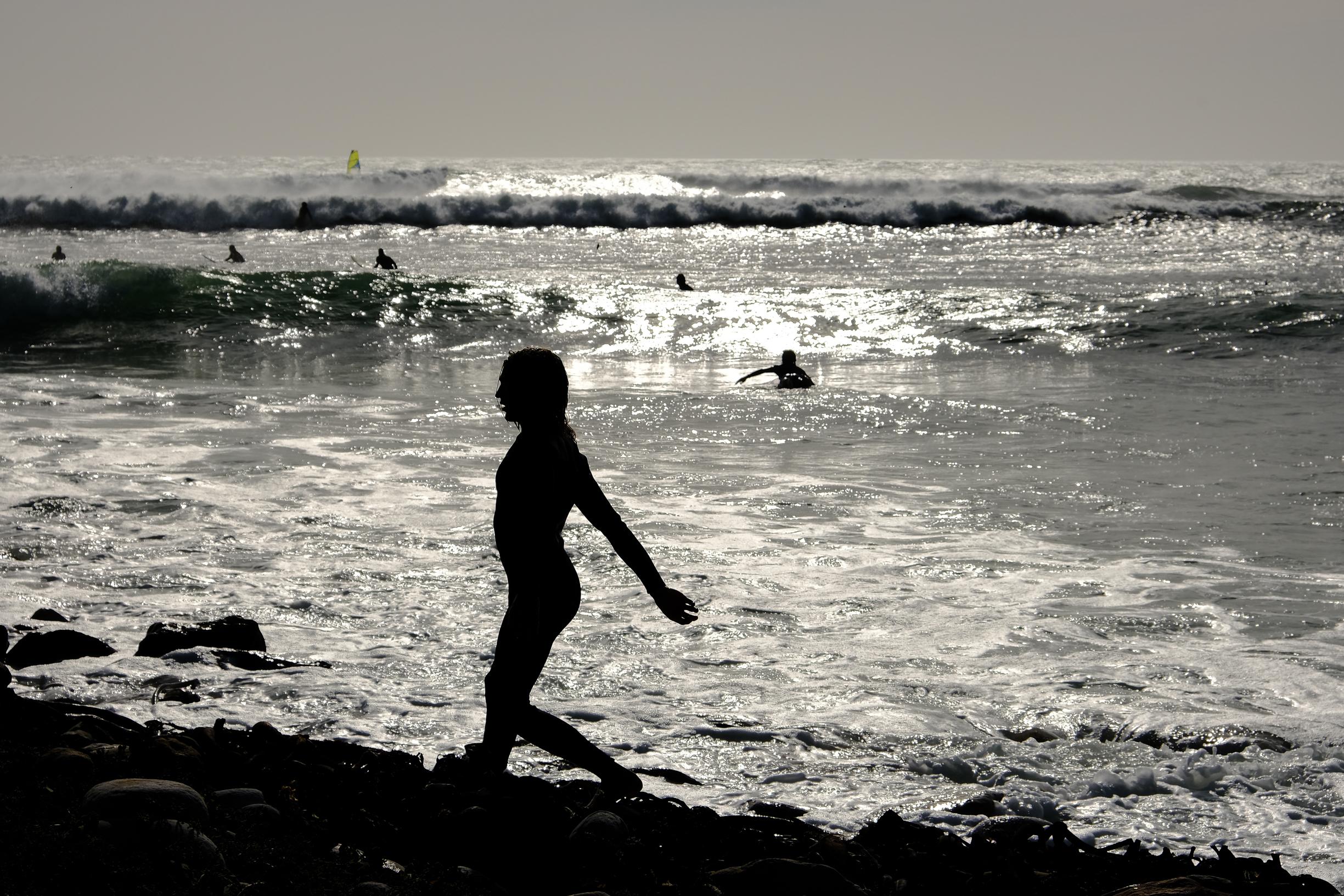 Surfer's silhouette Kommetjie