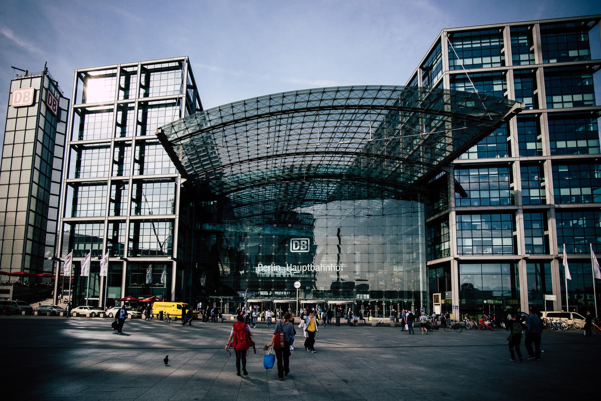 Ekvidi Berlin Hauptbahnhof
